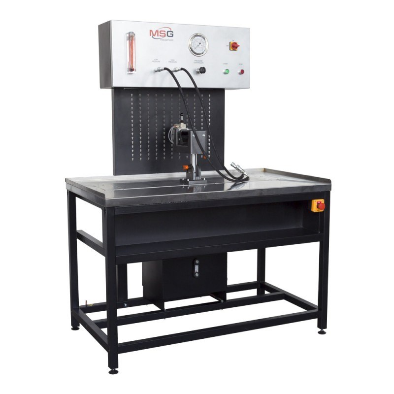Test Equipment Racks : Msg ms m power steering rack test bench for sale