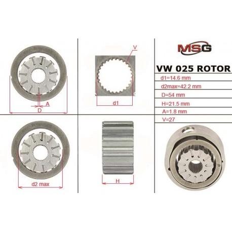 Power steering pump rotors VW 025 ROTOR - 1