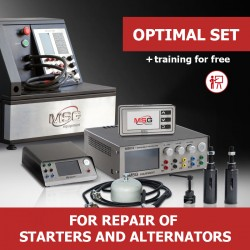 "Turnkey business ""Optimal set"" for repair of starters and alternators"