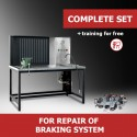 """Turnkey business """"Complete set"""" for repair of braking system"""