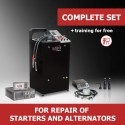 """Turnkey business """"Complete set"""" for repair of starters and alternators"""