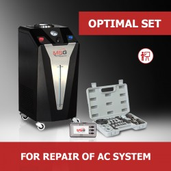 "Turnkey business ""Optimal set"" for repair of AC system"