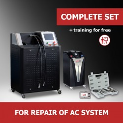 "Turnkey business ""Complete set"" for repair of AC system"