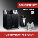 """Turnkey business """"Complete set"""" for repair of AC system"""