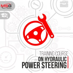 Training course on hydraulic power steering