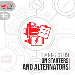 Training course on starters and alternators