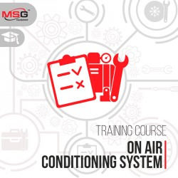 Training in diagnostics and repair of vehicle air conditioning system