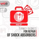 "Turnkey business ""Basic set"" for repair of shock absorbers"