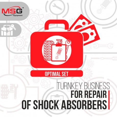 "Turnkey business ""Optimal set"" for repair of shock absorbers - 1"
