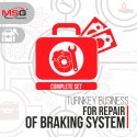 "Turnkey business ""Complete set"" for repair of braking system"