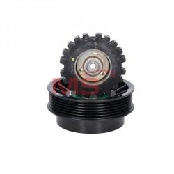KP-0162 - AC compressor pulley DENSO 7SEU17C Mercedes