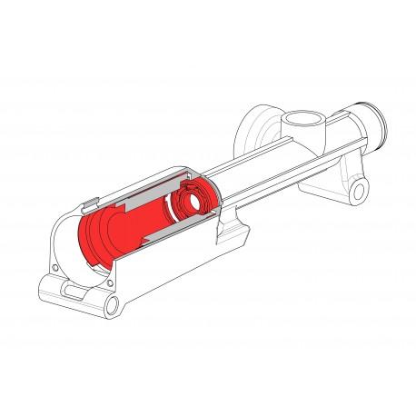 MS00141 - Съемник для демонтажа/монтажа статора электродвигателя, монтажа подшипника