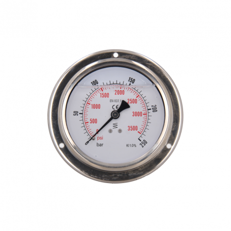 MS0124 – Flanged pressure gauge for MS604, MS300 Test benches - 1