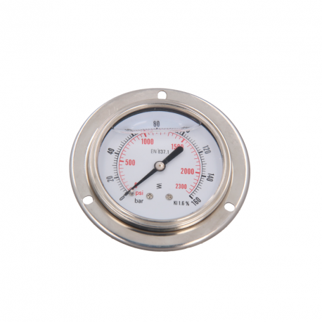 MS0125 – Flanged pressure gauge for MS603N Flushing stand - 1
