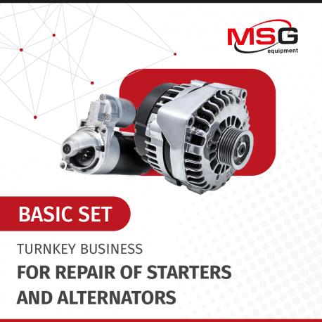 "Turnkey business ""Basic set"" for repair of starters and alternators - 1"
