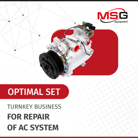 """Turnkey business """"Optimal set"""" for repair of AC system - 1"""