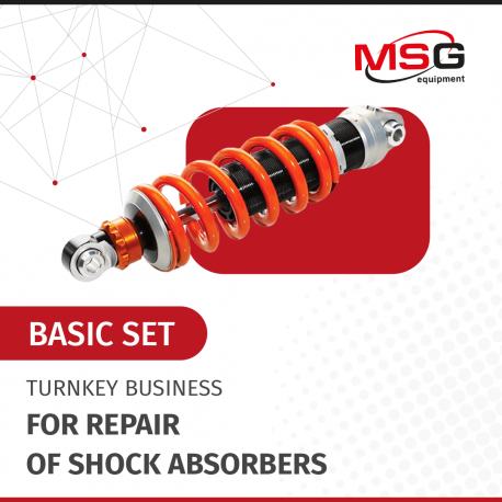 """Turnkey business """"Basic set"""" for repair of shock absorbers - 1"""