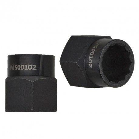 MSG MS102 - Приспособление для монтажа/демонтажа верхней гайки червячного механизма рулевой рейки
