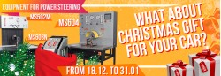 Christmas promotion on diverse power steering tools