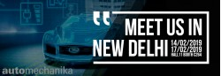 Good start of 2019: let us meet ACMA Automechanika New Delhi in february 14-17