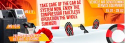 AUTOMOTIVE AIR CONDITIONING SYSTEM SERVICE EQUIPMENT